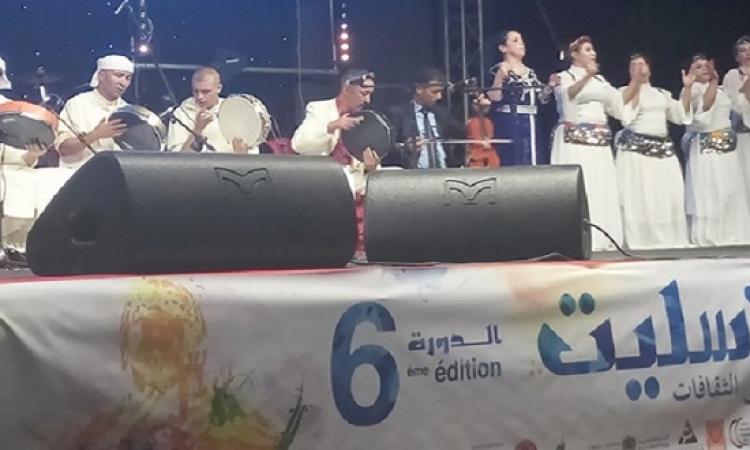 بالصور .. انطلاق الدورة السادسة لمهرجان تسليت الثقافى بالمغرب