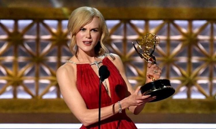 نيكول كيدمان تحصد جائزة أفضل ممثلة فى حفل جوائز إيمى