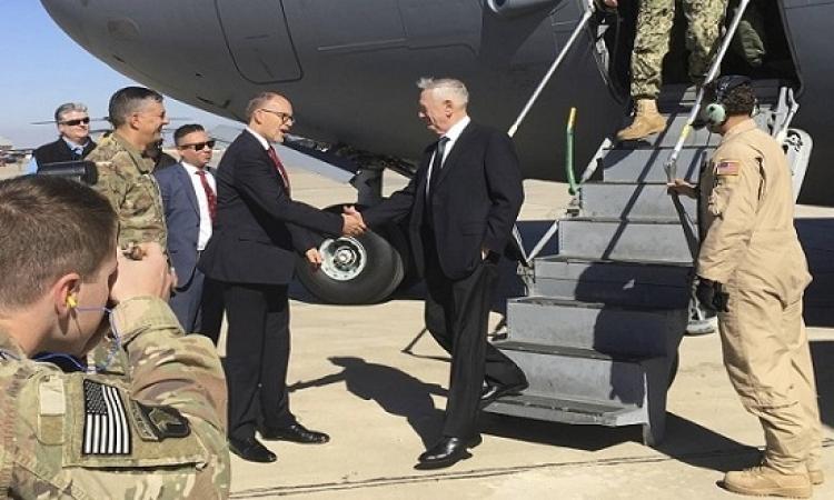 وزير الدفاع الامريكى وأمين عام الناتو يصلان كابول فى زيارة مفاجئة