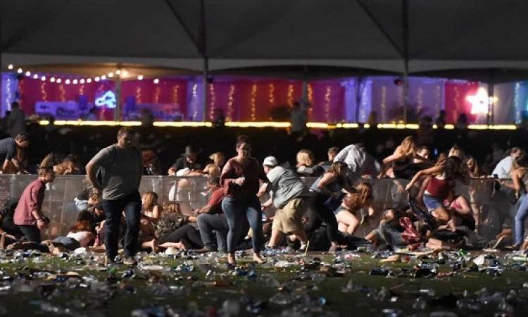 الشرطة الامريكية : إطلاق النار فى هجوم لاس فيجاس استغرق 9 دقائق متواصلة