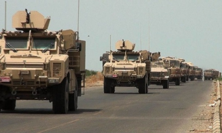 التحالف العربى يدفع بتعزيزات عسكرية كبيرة فى حجة شمال غرب اليمن