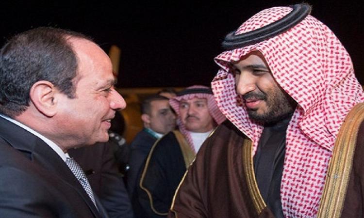 السيسى يشكر الأمير محمد بن سلمان على دعم مشيرة خطاب