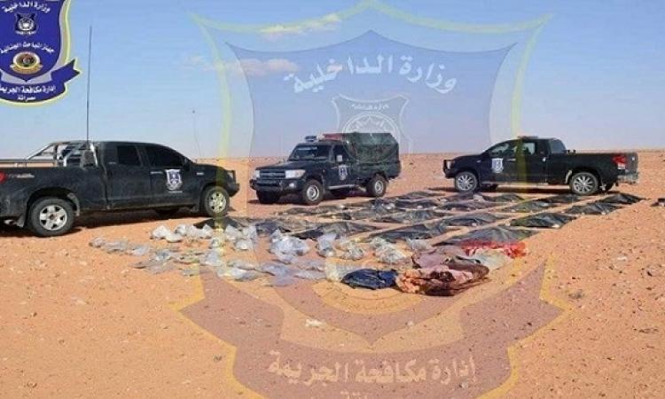 بالصور .. انتشال رفات المصريين الـ 21 الذين قتلهم داعش فى ليبيا ونقلهم إلى مصراته
