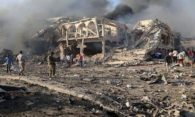 حصيلة تفجيرى مقديشيو يرتفعون إلى 276 قتيلاً و300 جريح