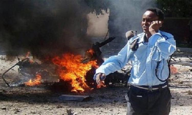 ارتفاع عدد ضحايا تفجير شاحنة مقديشو إلى 20 قتيلا
