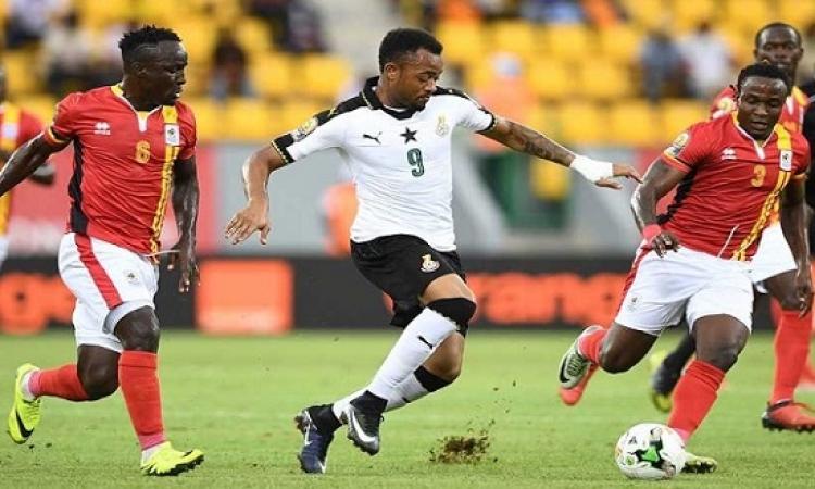 غانا تمهد طريق المونديال لمصر بتعادلها السلبى مع أوغندا