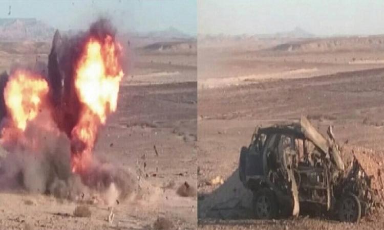 الجيش يضبط تكفيرين ويدمر سيارة يستخدمها الارهابيين بوسط سيناء