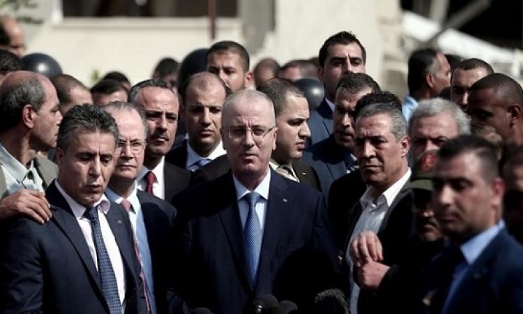 حكومة الحمد الله تصل غزة اليوم لتسلّم مهامها بحضور مصرى وأممى