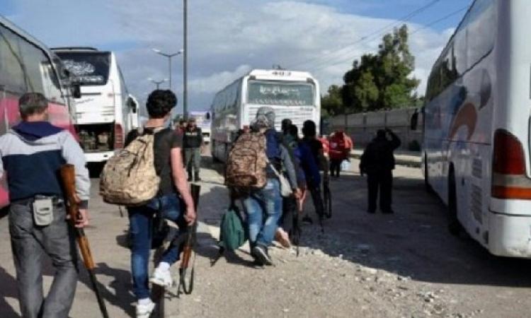 معقل داعش الجديد .. بعد خروجهم من الرقة