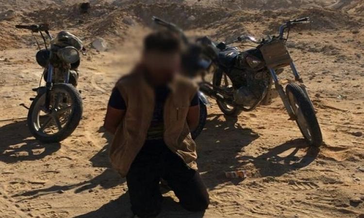 الجيش يضبط 3 تكفييرين وكميات من المواد المتفجرة بوسط سيناء