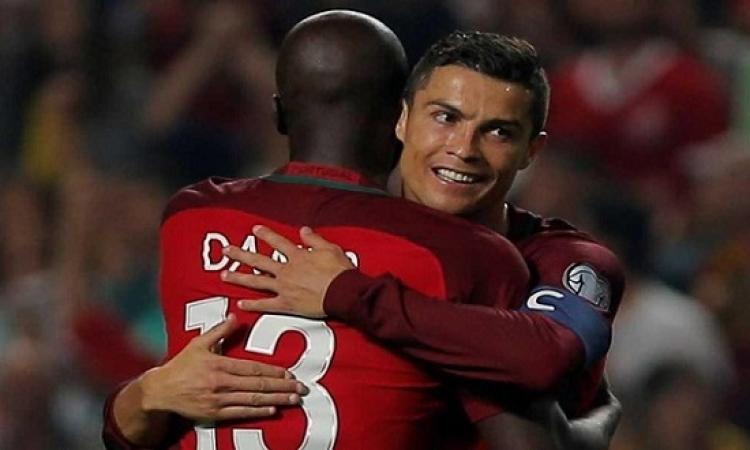 البرتغال تتأهل لمونديال روسيا بفوزها على سويسرا بثنائية