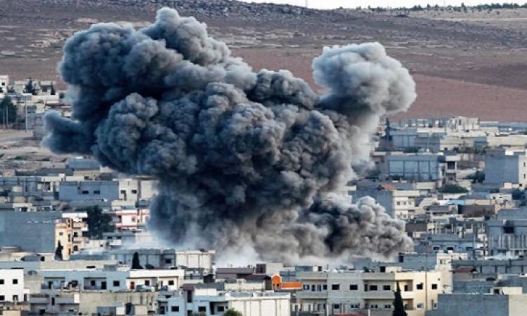 مقتل 12 مدنياً وإصابة 5 آخرين فى قصف جوى على مدينة درنة الليبية