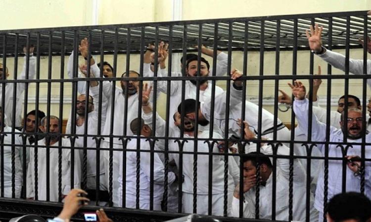 """جنايات القاهرة تستأنف محاكمة 213 متهماً فى قضية """"أنصار بيت المقدس"""""""