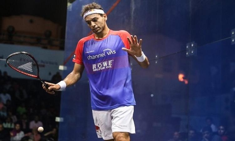 محمد الشوربجى فى ربع نهائى بطولة أمريكا المفتوحة للاسكواش