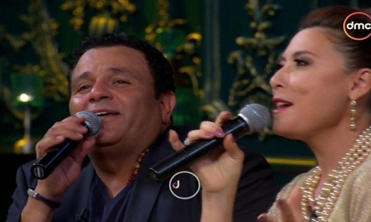 """بالفيديو .. أنوشكا ومحمد فؤاد يبهران الجمهور بدويتو """"حلوة يا بلدى"""""""
