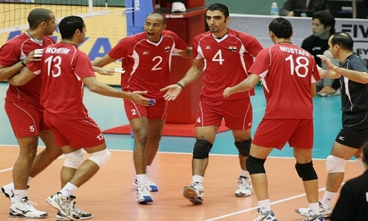 مصر تتأهل لنهائي بطولة افريقيا للكرة الطائرة وإلى كأس العالم 2018