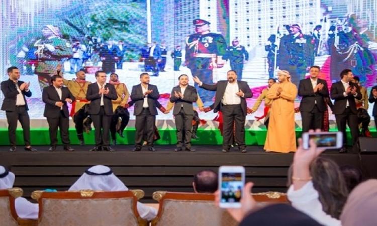 بالصور .. رسالة حب أردنية للأشقاء الاماراتيين فى أعيادهم الوطنية