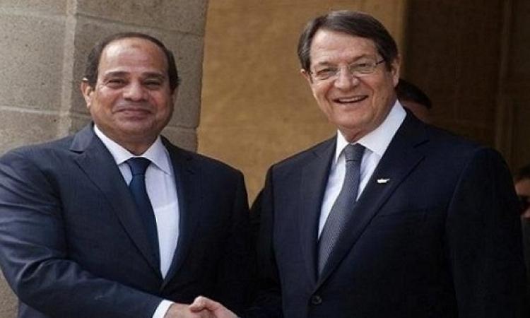 الرئيس السيسى يصل قبرص ويشارك غداً فى قمة نيقوسيا الثلاثية