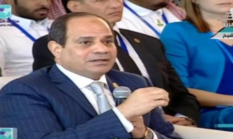 السيسى: لن يكون للإخوان دور بمصر