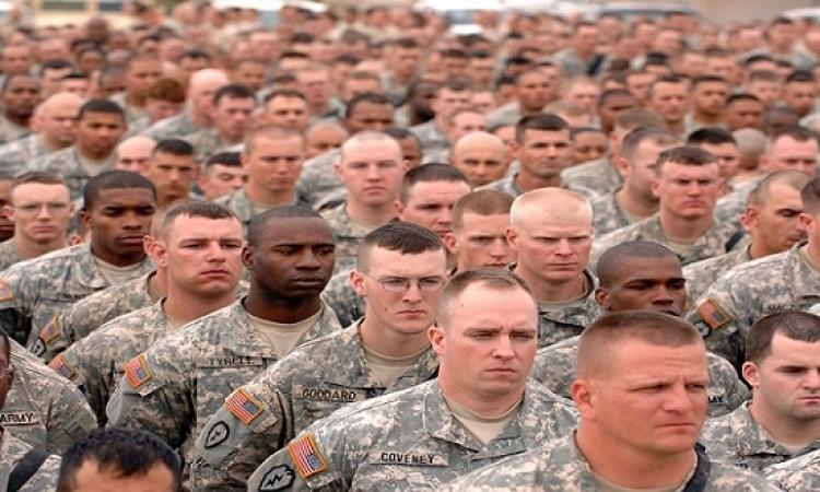 الجيش الأمريكى يقبل أصحاب الأمراض العقلية ومدمنى الكحول والمخدرات !!