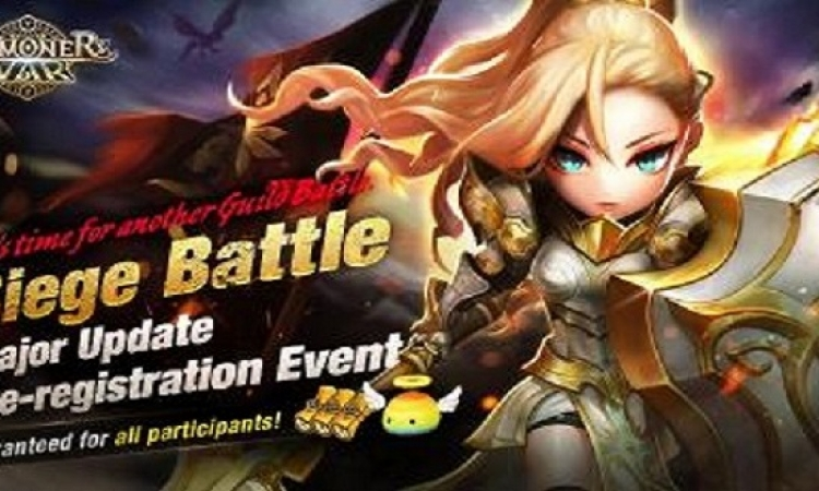"""""""حرب السامونيرز"""" تعقد فعالية التسجيل المسبق لتحديث لعبة """"معركة حصار الطوائف"""""""
