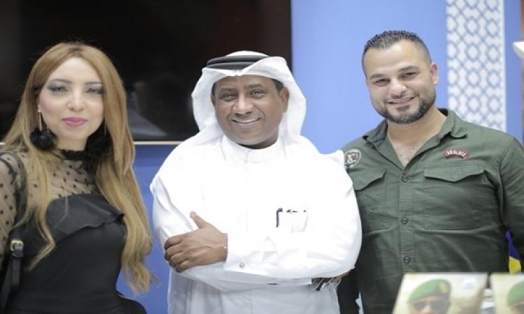 تظاهرة ادبية بحفل توقيع ديوان مشاعر وطن 71 للشاعر علي الخوار بمعرض الشارقة للكتاب