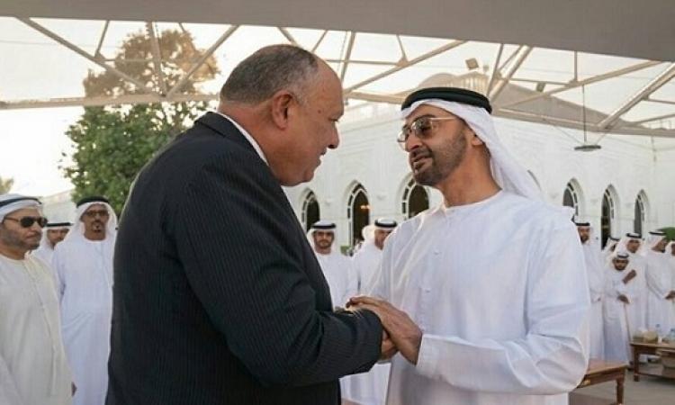 سامح شكرى يختتم اليوم جولته العربية بزيارة سلطنة عُمان والسعودية