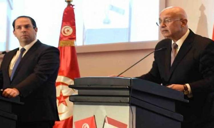إسماعيل والشاهد يشهدان التوقيع على اتفاقات تعاون مشتركة