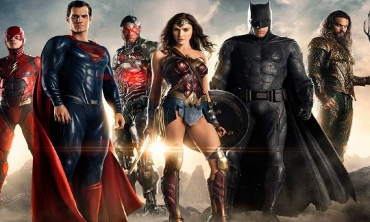 قبل عرضه الاربعاء المقبل .. تقييمات أولية جيدة لفيلم Justice League