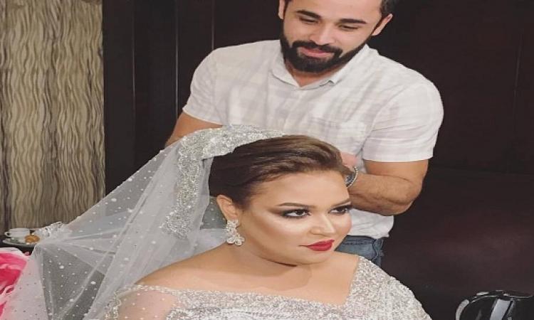 """بالفيديو.. """"ويزو"""" نجمة فرقة مسرح مصر تستعد لحفل زفافها الليلة"""