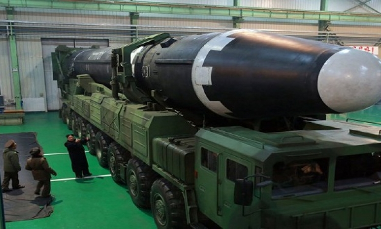 بالصور.. صاروخ كوريا الشمالية الجديد الأكثر قوة وقادر على ضرب أمريكا