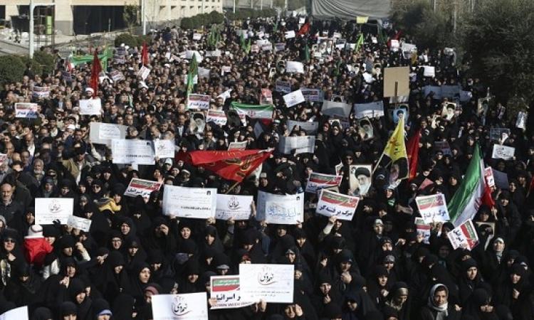 مظاهرات ايران تدخل يومها الخامس .. ووزير الداخلية يهدد بقمعها بقوة