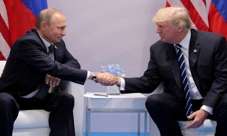 بوتين يشكر ترامب على مساهمته فى إحباط هجوم إرهابى بسان بطرسبرج