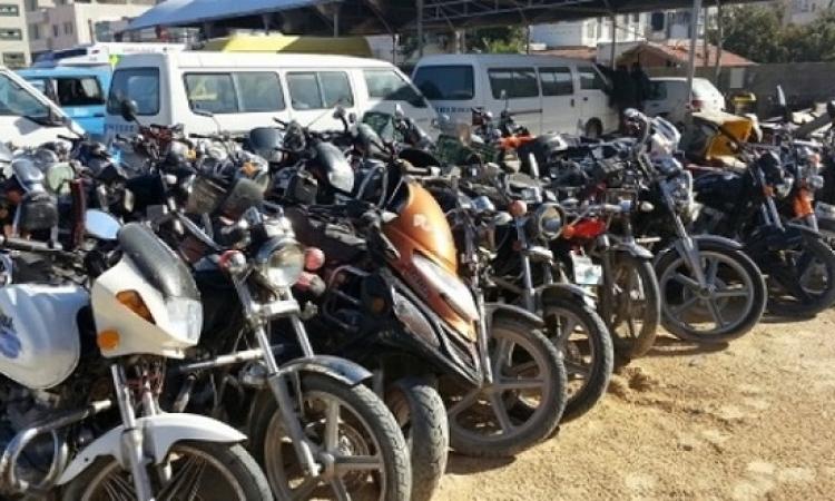 حملات موسعة لضبط الدراجات البخارية غير المرخصة