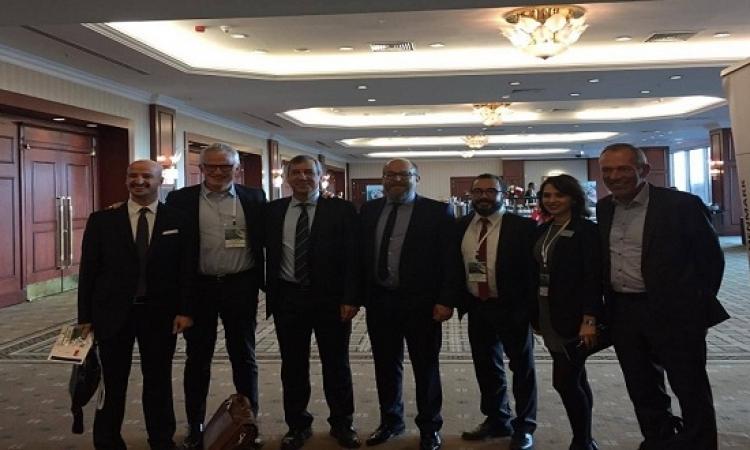 رئيس جروندفوس التنفيذى يستعرض سياسة الشركة فى مؤتمر الطاقة بتركيا