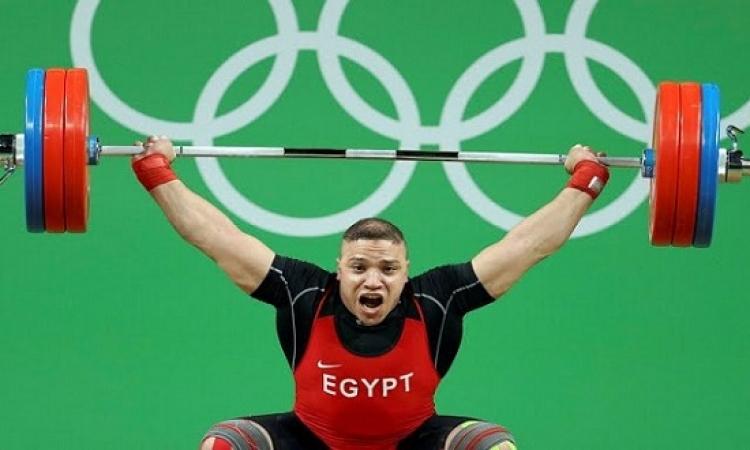 رجب عبد الحى يحتل المركز الخامس فى وزن 94 ببطولة العالم لرفع الأثقال