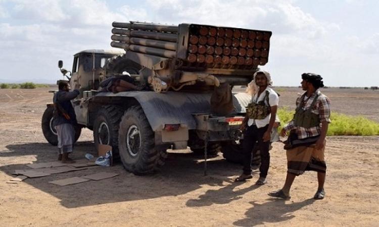 مقتل 3 من أبرز مسؤولى القوة الصاروخية للحوثيين فى غارة للتحالف غرب اليمن