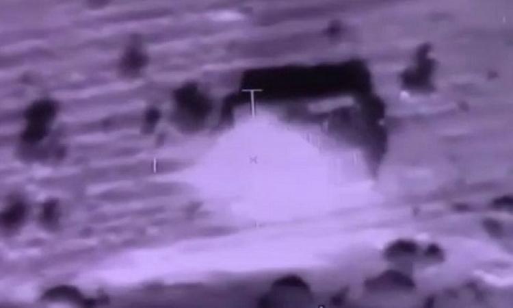 بالصور .. الجيش الثانى يدمر بؤراً إرهابية وعربة للتكفيريين تحمل متفجرات بشمال سيناء