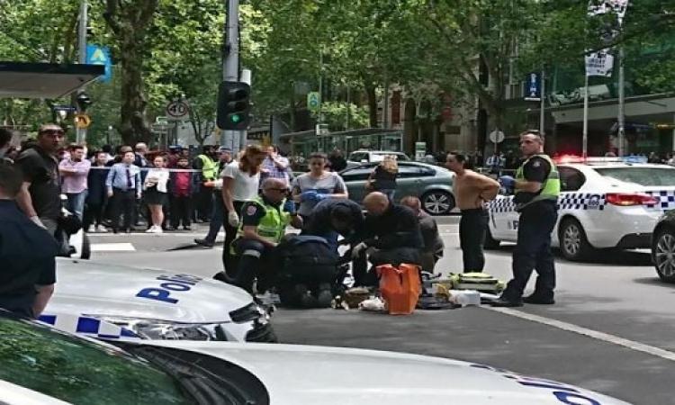 12 إصابة بعملية دهس فى ملبورن الأسترالية واعتقال شخصين