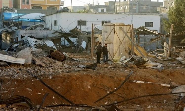 شهيدان في غارات اسرائيلية على غزة واشتباكات فى الضفة الغربية