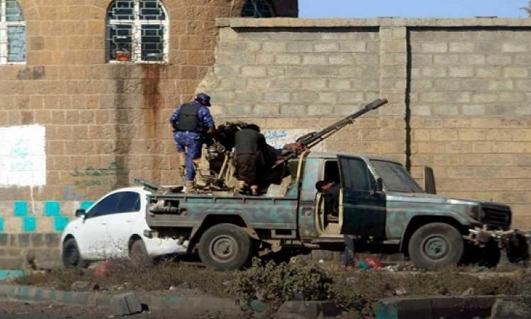 تواصل الاشتباكات فى صنعاء .. وميليشيات الحوثيين تستعيد السيطرة على معسكر 48