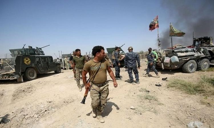 ميليشيا الحشد الشعبى يعلن السيطرة على الحدود مع سوريا