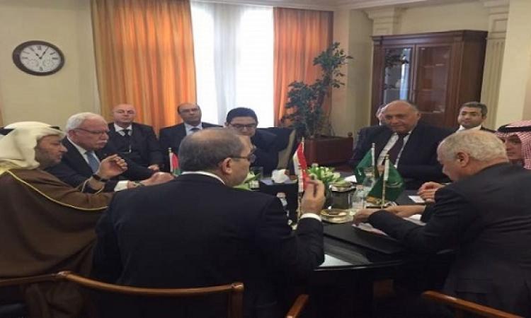 انطلاق اجتماع اللجنة السداسية حول القدس فى الأردن بمشاركة شكرى