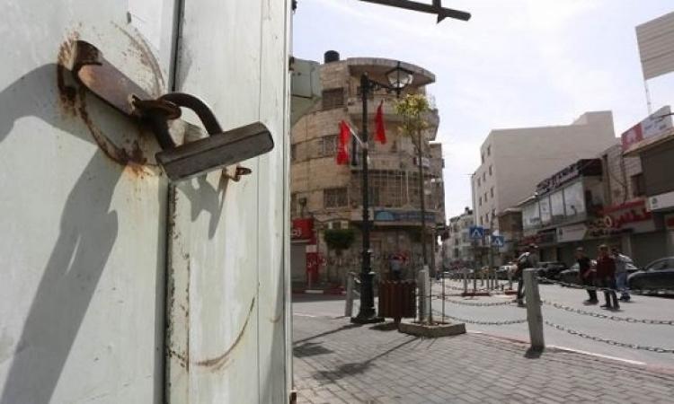 """الإضراب العام يعم """" أراضي 48 """" رداً على مجزرة الاحتلال الإسرائيلي في غزة"""