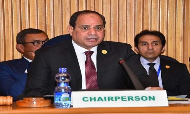 السيسى : سأطالب المصريين بتفويض جديد لمواجهة الإرهاب وقوى الشر