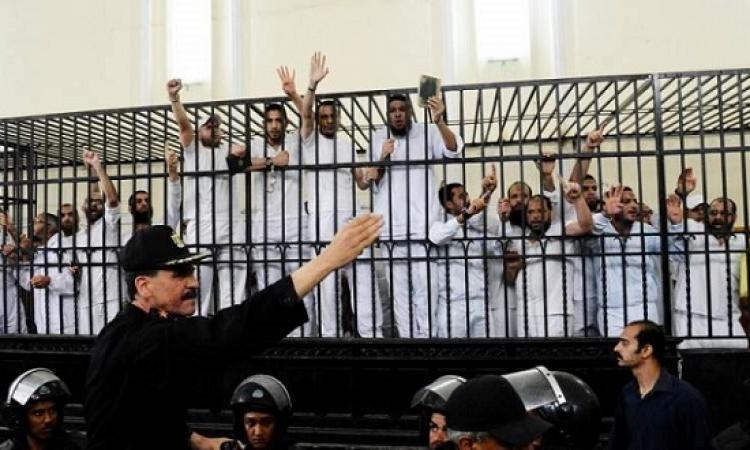 استئناف محاكمة 292 متهماً فى قضية محاولة اغتيال السيسى