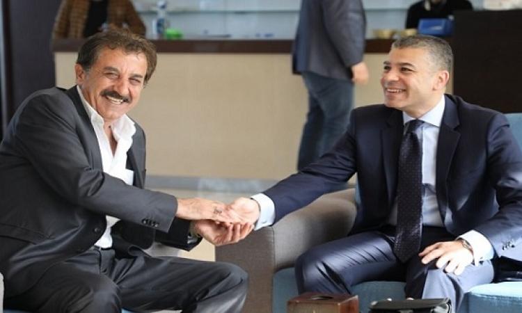 بالصور .. الوفد الأمنى المصرى يلتقى رئيس سلطة المعابر الفلسطينية