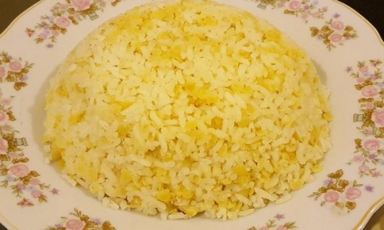 طبق اليوم .. الأرز بالعدس الأصفر والليمون