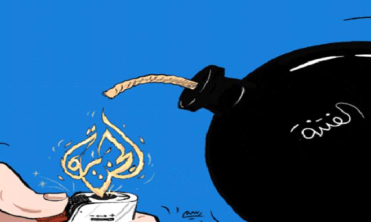 حركة فتح تتهم قناة الجزيرة بتسخير أبواق الفتنة ضد أبو مازن