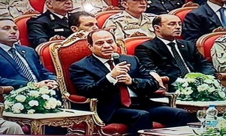 السيسى يشهد الندوة التثقيفية الـ27 للقوات المسلحة